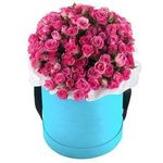 Цветы в коробке - flowers and bouquets on vambuket.com