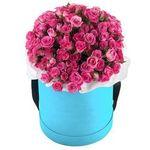 Цветы в коробке - цветы и букеты на vambuket.com