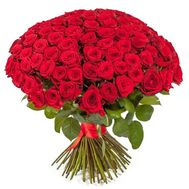 Bouquet of 101 red roses - flowers and bouquets on vambuket.com