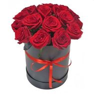 Box of red roses - flowers and bouquets on vambuket.com