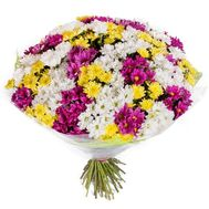 51 chrysanthemum in bouquet - flowers and bouquets on vambuket.com