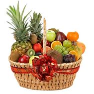 Large basket of fruit - flowers and bouquets on vambuket.com