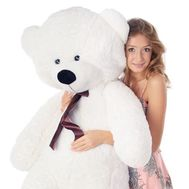 Huge Bear teddy 1 m - flowers and bouquets on vambuket.com