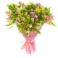 25 alstroemerias - flowers and bouquets on vambuket.com