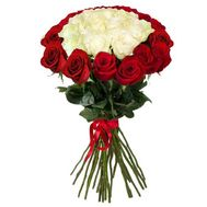 Bouquet of 11 red roses - flowers and bouquets on vambuket.com
