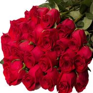 Bouquet of 25 meter high import roses - flowers and bouquets on vambuket.com