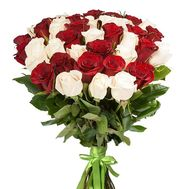 Bouquet of 35 imported roses - flowers and bouquets on vambuket.com
