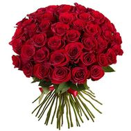 Bouquet of 55 red roses - flowers and bouquets on vambuket.com
