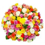 Bouquet of 101 roses - flowers and bouquets on vambuket.com