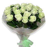 Bouquet of 25 white roses - flowers and bouquets on vambuket.com