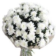 Букет из 21 хризантемы - цветы и букеты на vambuket.com