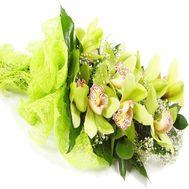 Букет цветов из орхидеи - цветы и букеты на vambuket.com