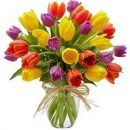 Букет из 25 тюльпанов - цветы и букеты на vambuket.com