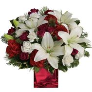 Bouquet for the New Year New Year - flowers and bouquets on vambuket.com