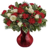 Bouquet for the New Year - flowers and bouquets on vambuket.com