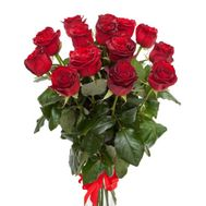 Bouquet of 15 red roses - flowers and bouquets on vambuket.com