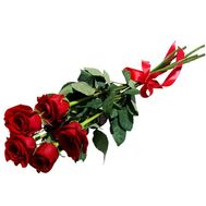 Bouquet of 5 red roses - flowers and bouquets on vambuket.com