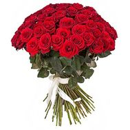Bouquet of 45 red roses - flowers and bouquets on vambuket.com