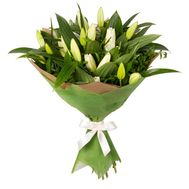Bouquet of 7 lilies - flowers and bouquets on vambuket.com