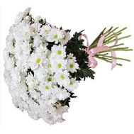 Bouquet of flowers from 25 chamomile chrysanthemums - flowers and bouquets on vambuket.com