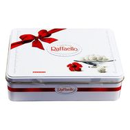 Raffaello candies in a metal box - flowers and bouquets on vambuket.com