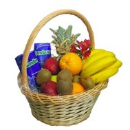 Fruit basket for New Year''s holidays - flowers and bouquets on vambuket.com