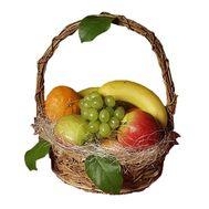Корзина с фруктами - цветы и букеты на vambuket.com