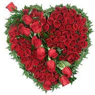 75 красных роз - цветы и букеты на vambuket.com