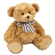 Soft toy - Brown bear - flowers and bouquets on vambuket.com