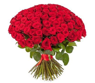 """""""Букет из 101 красной розы"""" в интернет-магазине цветов vambuket.com"""