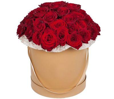 """""""Большая коробка красных роз"""" в интернет-магазине цветов vambuket.com"""