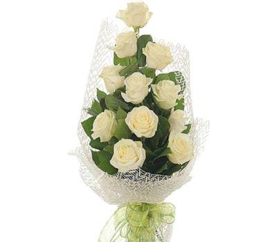 """""""Букет из 11 белых роз"""" в интернет-магазине цветов vambuket.com"""
