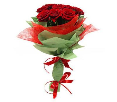 """""""Bouquet of 13 red roses"""" in the online flower shop vambuket.com"""