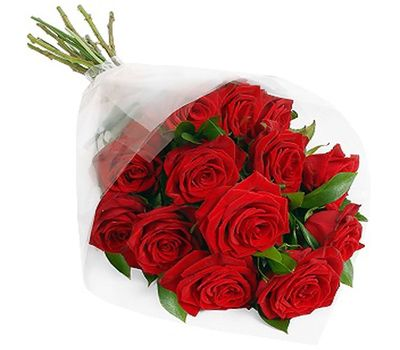 """Bouquet of 11 red roses"" in the online flower shop vambuket.com"