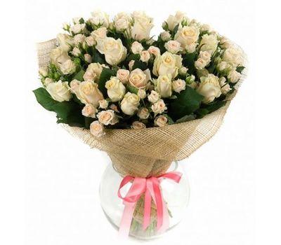 """""""Букет из 10 кустовых роз и 9 роз"""" в интернет-магазине цветов vambuket.com"""
