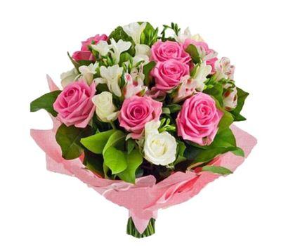 """""""Букет цветов из 14 роз и 7 альстромерий"""" в интернет-магазине цветов vambuket.com"""
