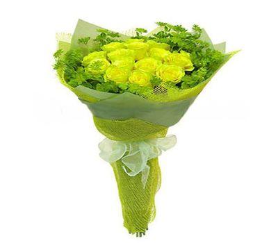 """""""Букет из 17 желтых роз"""" в интернет-магазине цветов vambuket.com"""