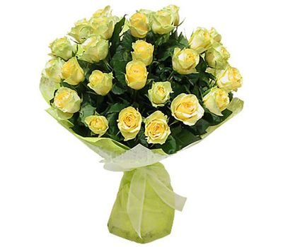 """""""Bouquet of 35 yellow roses"""" in the online flower shop vambuket.com"""