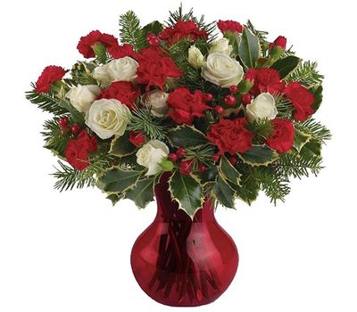 """""""Bouquet for the New Year"""" in the online flower shop vambuket.com"""