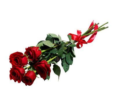 """""""Букет из 5 красных роз"""" в интернет-магазине цветов vambuket.com"""