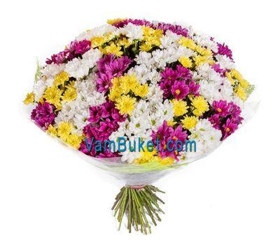 """51 хризантема в букете"" в интернет-магазине цветов vambuket.com"