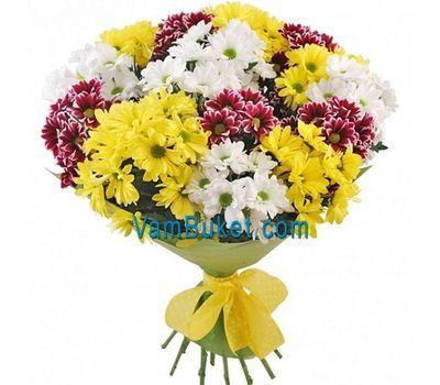 """""""Прекрасный букет хризантем"""" в интернет-магазине цветов vambuket.com"""