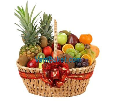 """Large basket of fruit"" in the online flower shop vambuket.com"