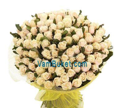 """""""Букет из 101 розы"""" в интернет-магазине цветов vambuket.com"""