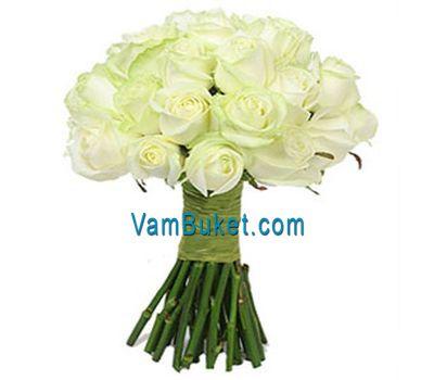 """""""Букет из 35 белых роз"""" в интернет-магазине цветов vambuket.com"""