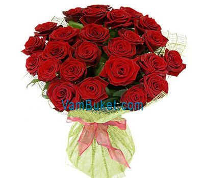 """Bouquet of 29 red roses"" in the online flower shop vambuket.com"