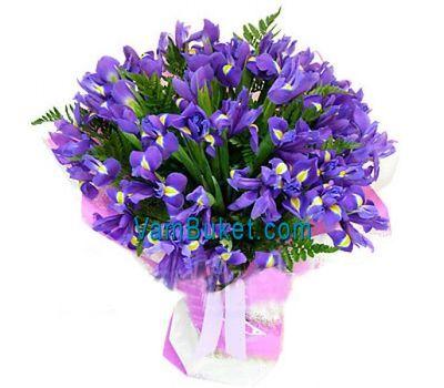 """""""Букет цветов из 35 ирисов"""" в интернет-магазине цветов vambuket.com"""