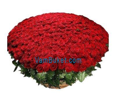 """""""Букет из 1001 розы!"""" в интернет-магазине цветов vambuket.com"""