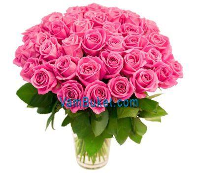 """""""Букет из 51 розы"""" в интернет-магазине цветов vambuket.com"""