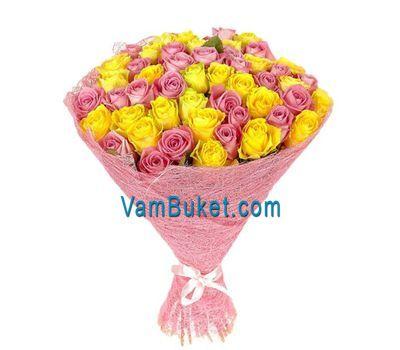 """""""Букет из 55 роз"""" в интернет-магазине цветов vambuket.com"""